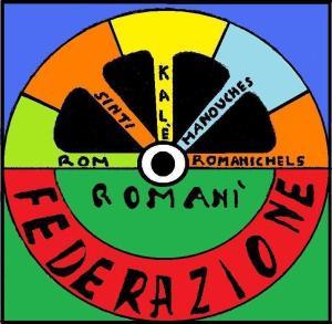 logo a colori federazione romanì